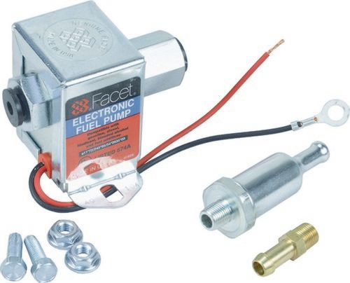 FACET Solid State Fuel Pump 40104 1.5-4psi [Clamshell Kit, FEP42SV]