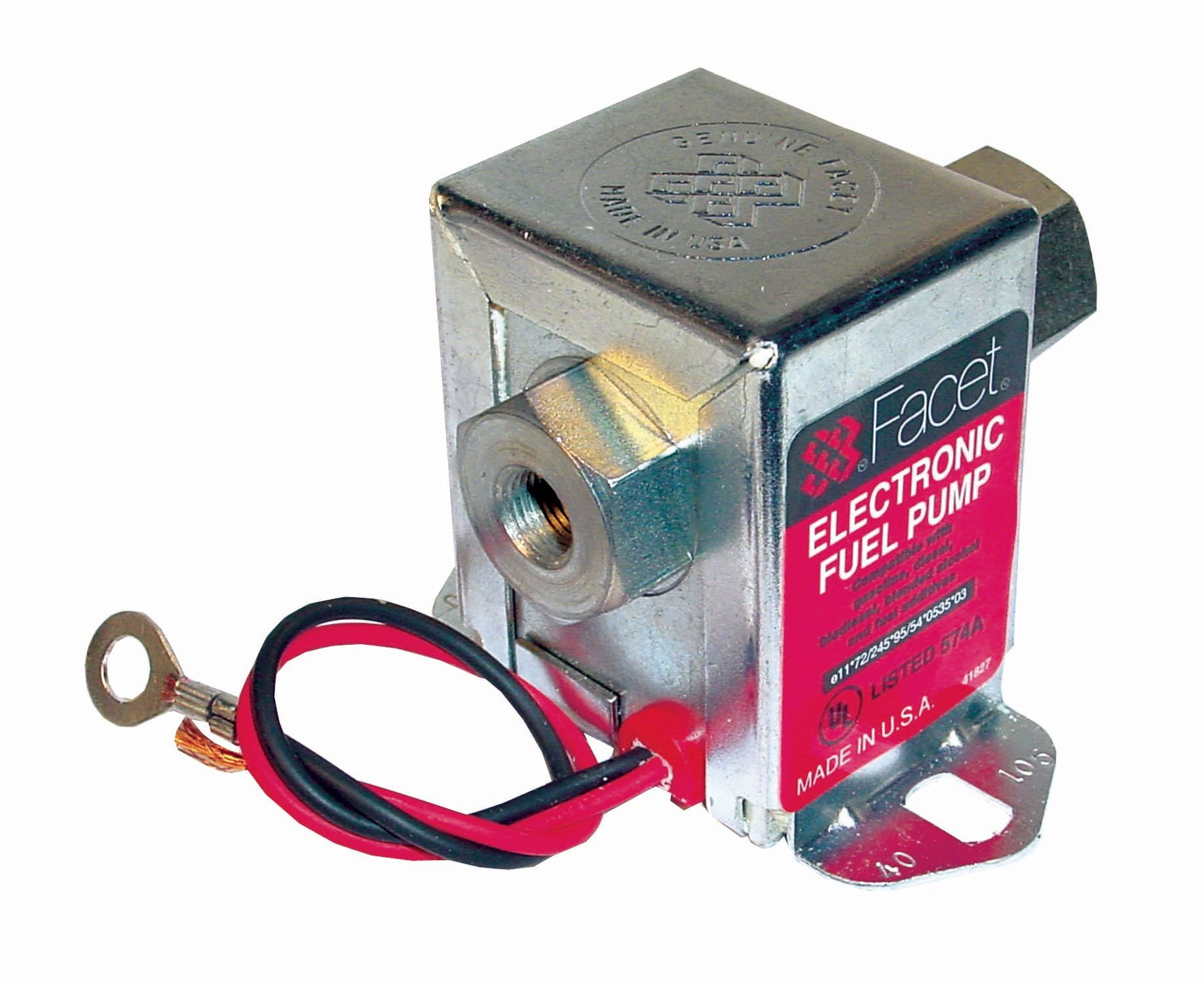 FACET Solid State Fuel Pump 40107 7.0-10psi