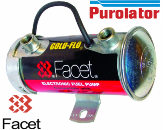Facet Electric Fuel Pump for Classic Cars and Motorsport